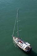 Segelboot, Bodensee, Bayern, Deutschland