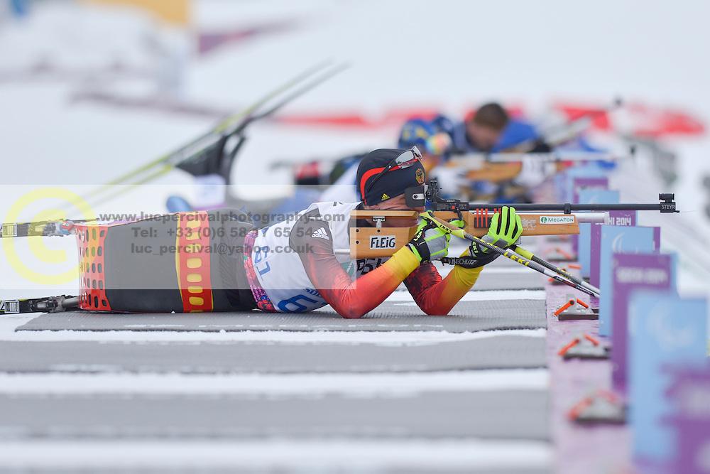 FLEIG Martin, Biathlon at the 2014 Sochi Winter Paralympic Games, Russia