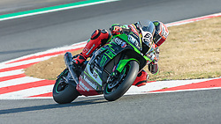 September 28, 2018 - 66, Tom Sykes, GBR, Kawasaki ZX-10RR, Kawasaki Racing Team WorldSBK, SBK 2018, MOTO - SBK Magny-Cours Grand Prix 2018, Free Practice 1, 2018, Circuit de Nevers Magny-Cours, Acerbis French Round, France ,September 28 2018, action during the SBK Free Practice 1 of the Acerbis French Round on September 28 2018 at Circuit de Nevers Magny-Cours, France (Credit Image: © AFP7 via ZUMA Wire)