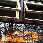 Bluebird Coffee Shop sign