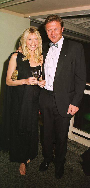 LORD & LADY ST.JOHN OF BLETSOE at a ball in London on 13th May 1999.MRZ 30