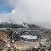 Volcano Poas Costa Rica (Format 3 x 1)