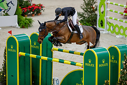SPRUNGER Janika (SUI), Little Magic d'Asschaut<br /> Genf - CHI Geneve Rolex Grand Slam 2019<br /> Prix des Communes Genevoises<br /> 2-Phasen-Springen<br /> International Jumping Competition 1m50<br /> Two Phases: A + A, Both Phases Against the Clock<br /> 13. Dezember 2019<br /> © www.sportfotos-lafrentz.de/Stefan Lafrentz