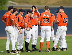 The Virginia Cavaliers baseball team held a seven game Orange and Blue World Series at Davenport Field in Charlottesville, VA.  Images are from Game 6 held on October 22, 2007.