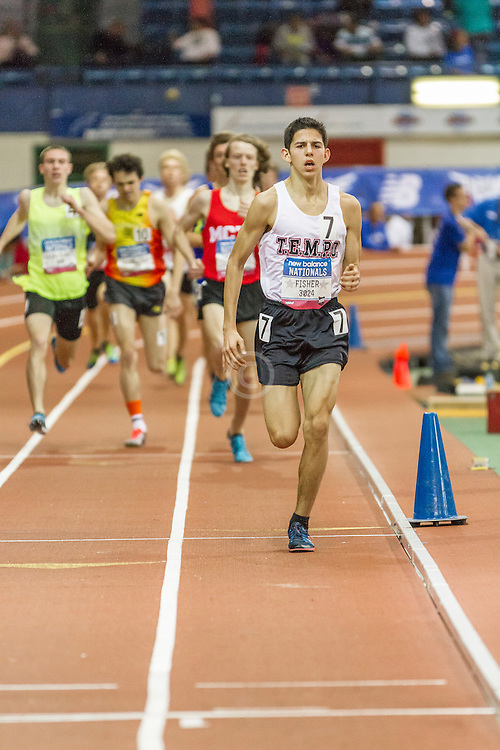 Boy's Championship Mile, won by Grant Fisher,