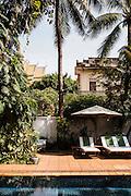 Colonial villa converted to hotel (Villa Lanka), Phnom Penh