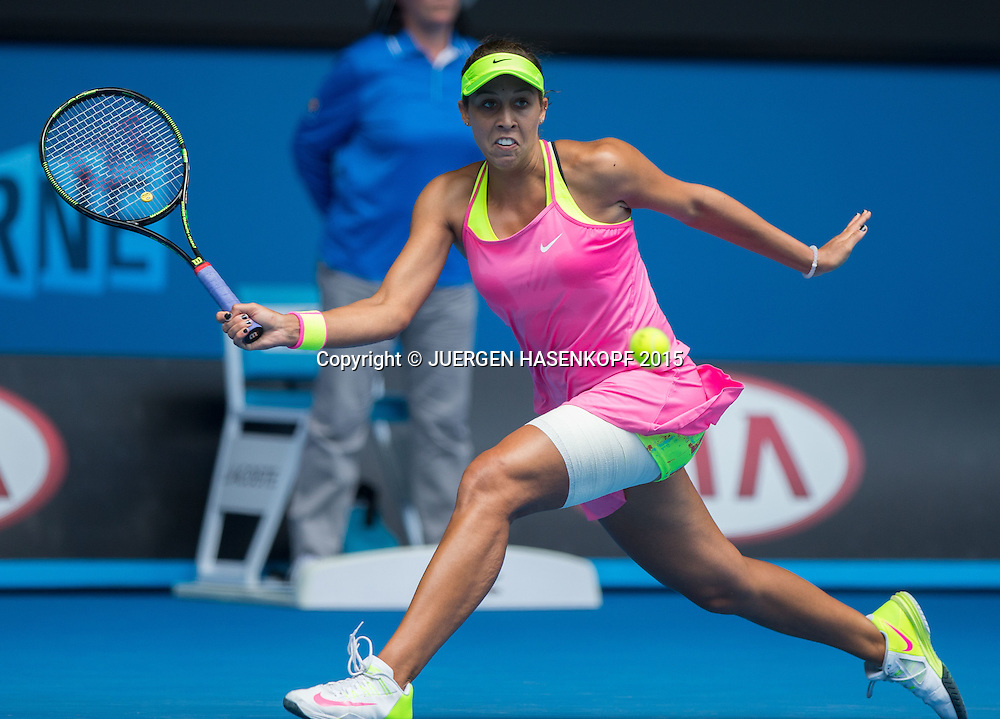 Madison Keys (USA)<br /> <br /> Tennis - Australian Open 2015 - Grand Slam ATP / WTA -  Melbourne Olympic Park - Melbourne - Victoria - Australia  - 28 January 2015.