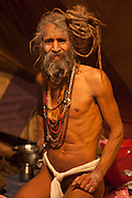 Naga Baba of the Juna Akhara, Haridwar, India