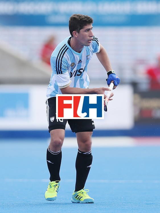 LONDON, ENGLAND - JUNE 15:  Gonzalo Peillat of Argentina during the Hero Hockey World League Semi Final match between Korea and Argentina at Lee Valley Hockey and Tennis Centre on June 15, 2017 in London, England.  (Photo by Alex Morton/Getty Images)