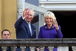 14.03.2016, Zagreb, CRO, der Britische Kronprinz Charles und seine Frau Camilla besuchen Kroatien, im Bild British Crown Prince Charles and his wife Camilla, the Duchess of Cornwall, are visiting Croatia as part of a regional tour that will include Serbia, Montenegro and Kosovo. They visited the Croatian National Theatre and participated in a programme to commemorate the 400th anniversary of the death of William Shakespeare. EXPA Pictures © 2016, PhotoCredit: EXPA/ Pixsell/ Goran Stanzl<br /> <br /> *****ATTENTION - for AUT, SLO, SUI, SWE, ITA, FRA only*****