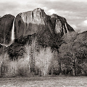 Yosemite Falls - Late Autumn