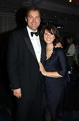 The HON.HARRY & MRS HERBERT at the 2004 Cartier Racing Awards in association with the Daily Telegraph, held at the Four Seasons Hotel, London on 17th November 2004.<br />