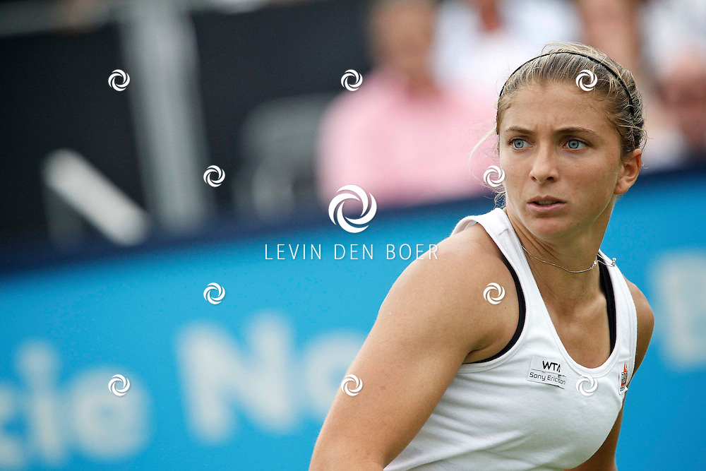 ROSMALEN - Op de Unicef Open is dit de wedstrijd tussen Svetlana Kuznetsova en Sara Errani.  Met op de foto tennisster Sara Errani. FOTO LEVIN DEN BOER - PERSFOTO.NU