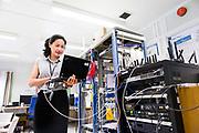 20170906 Arendal, <br /> <br /> Xin He produktutvikler ved Telenor Maritim, Arendal,<br /> <br /> Foto: Kjell Inge Søreide
