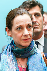 © Licensed to London News Pictures. 27/05/2019. London, UK. Annunziata Rees-Mogg, sister of Conservative MP Jacob Rees-Mogg, elected as MEP for East Midlands at the EU election results press conference in Westminster. The newly formed Brexit Party wants the UK to leave the EU without an agreement won 10 of the UK's 11 regions, gaining 28 seats, more than 32% of the vote across the country and are largest party in nine regions. Photo credit: Dinendra Haria/LNP