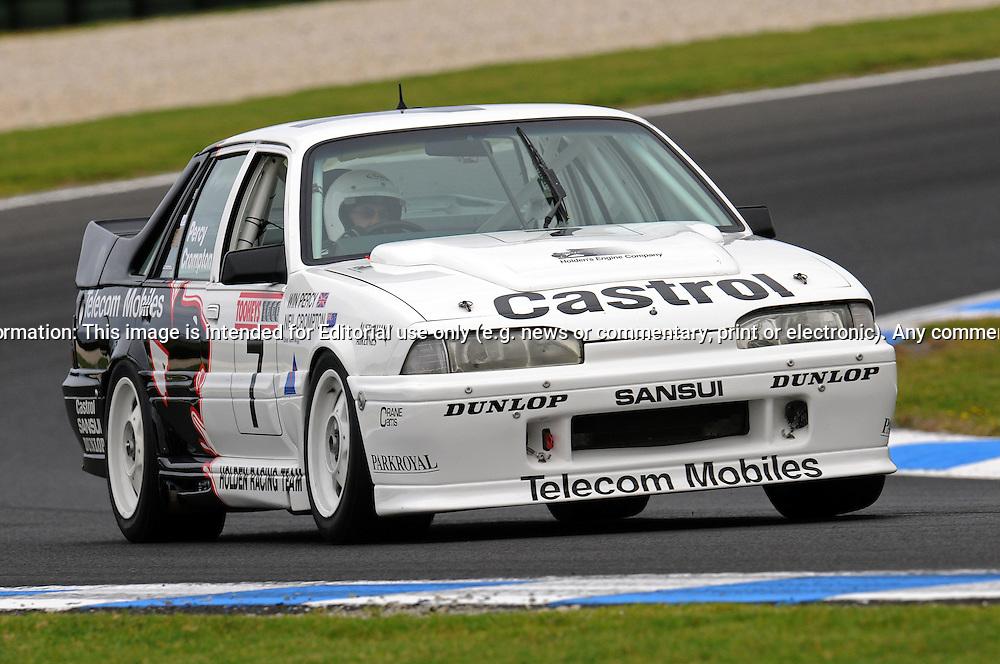 Norman Mogg - Holden VL Walkinshaw Commodore - Group C