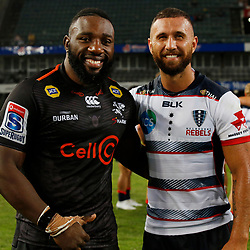AL NICOLL Super Rugby The Cell C Sharks and the Melbourne Rebels