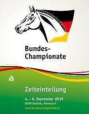 Warendorf - Bundeschampionate 2019