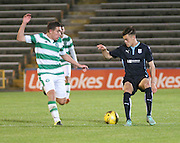 Jesse Curran - Celtic v Dundee - Development League at Cappielow<br /> <br />  - &copy; David Young - www.davidyoungphoto.co.uk - email: davidyoungphoto@gmail.com
