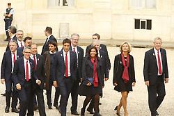 September 15, 2017 - Paris, France, France - Tony Estanguet - Anne Hidalgo - Valerie Pecresse - Guy Drut - Bernard Lapasset - Thierry Rey - Najat Vallaud Belkacem (Credit Image: © Panoramic via ZUMA Press)