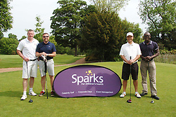 TEAM DST-2, Celebrity Tim Simpson, Sparks Leon Haslam Golf Day Wellingborough Golf Course Tuesday 7th June 2016