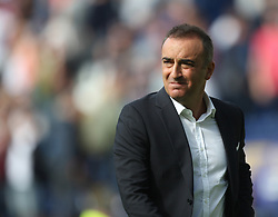 Sheffield Wednesday manager Carlos Carvalhal looks dejected at the final whistle - Mandatory by-line: Jack Phillips/JMP - 05/08/2017 - FOOTBALL - Deepdale - Preston, England - Preston North End v Sheffield Wednesday - English Football League Championship