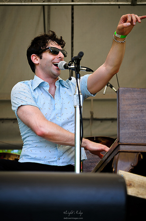 Adam Weiner Of Low Cut Connie at The 2013 Appel Farm Arts & Music Festival in Elmer, NJ.