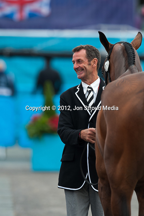 Mark Todd (NZL) & Campino - Final Horse Inspection - Eventing - London 2012 Olympic Games - Greenwich Park, London, United Kingdom -  31 July 2012