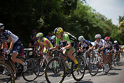 Doris Schweizer (SUI) of Cylance Pro Cycling tackles the only climb of the Giro Rosa 2016 - Stage 3. A 120 km road race from Montagnana to Lendinara, Italy on July 4th 2016.
