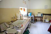 Inside a labour ward in Uganda.