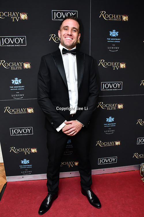 Matthew Cook attend Rochay High Society Soiree with Jovoy at Westbury Mayfair grafton suite on 21 November 2019, London, UK.