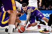 NIKON D5 • AF-S Nikkor 70-200mm f/2.8E FL ED VR<br /> f/3.5 • ISO 2000 • 1/1250<br /> <br /> Micov Vladimir <br /> A|X Armani Exchange Milano - Umana Reyer Venezia <br /> LBA Final Eight 2020 Zurich Connect - Semifinale<br /> Basket Serie A LBA 2019/2020<br /> Pesaro, Italia - 15 February 2020<br /> Foto Mattia Ozbot / CiamilloCastoria