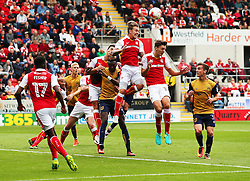 Danny Ward of Rotherham heads the ball clear - Mandatory by-line: Matt McNulty/JMP - 10/09/2016 - FOOTBALL - Aesseal New York Stadium - Rotherham, England - Rotherham United v Bristol City - Sky Bet Championship