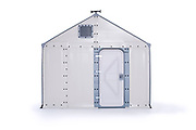 Better Shelter – The refugee shelters designed by IKEA<br /> <br /> Better Shelter is a shelter designed specifically by IKEA for refugees and emergencies. It can be assembled in just a few hours and has a lifetime of three years. It combines lightweight and easy to assemble materials with solar panels capable of providing light and electricity. Better Shelter is a collaborative project between IKEA and UNHCR, which helps refugees. More than 30,000 shelters of this type are currently used throughout the world. <br /> ©Better Shelter/Exclusivepix Media