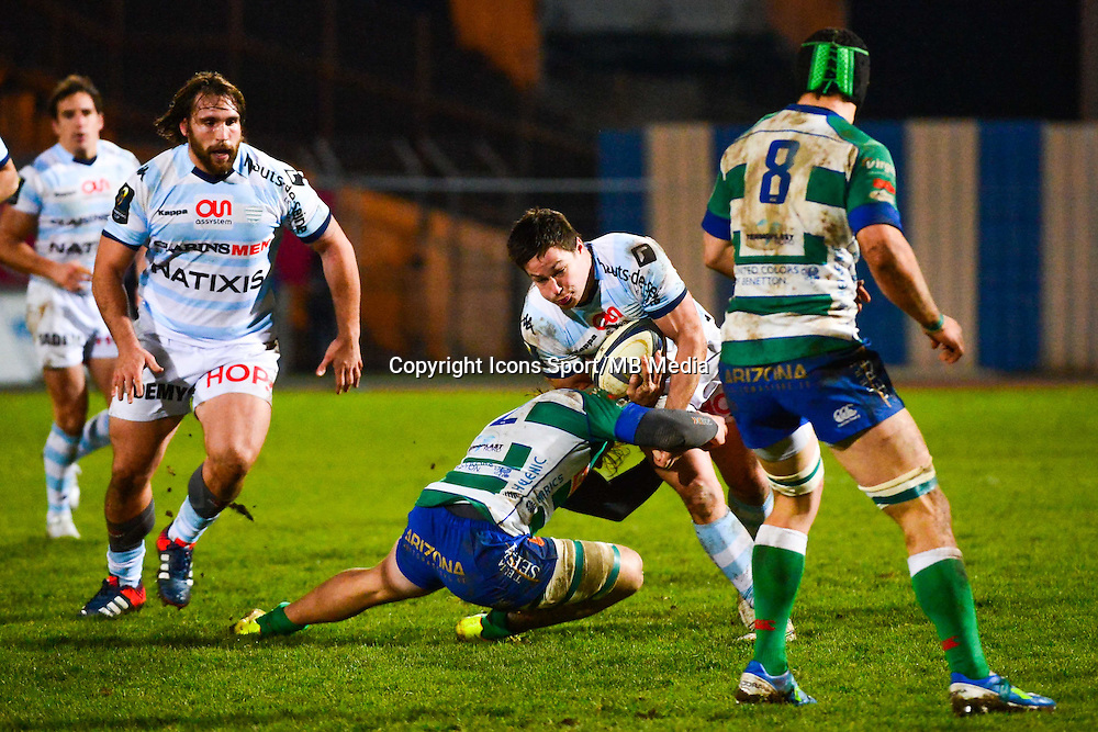 Henry CHAVANCY  - 18.01.2015 - Racing Metro 92 / Trevise - European Champions Cup<br /> Photo : Dave Winter / Icon Sport