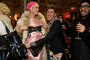 AGYNESS DEYN; WITH PRIZE SHE WON IN TREASURE HUNT; HENRY HOLLAND, Kate Grand hosts a Love Tea and Treasure hunt at Flash. Royal Academy. Burlington Gardens. London. 10 december 2008 *** Local Caption *** -DO NOT ARCHIVE-© Copyright Photograph by Dafydd Jones. 248 Clapham Rd. London SW9 0PZ. Tel 0207 820 0771. www.dafjones.com.<br /> AGYNESS DEYN; WITH PRIZE SHE WON IN TREASURE HUNT; HENRY HOLLAND, Kate Grand hosts a Love Tea and Treasure hunt at Flash. Royal Academy. Burlington Gardens. London. 10 december 2008