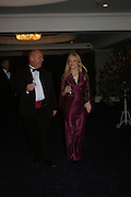 Roger Vinton and Caroline Critchley. White Knights Ball, Grosvenor House Hotel 7 January 2005. ONE TIME USE ONLY - DO NOT ARCHIVE  © Copyright Photograph by Dafydd Jones 66 Stockwell Park Rd. London SW9 0DA Tel 020 7733 0108 www.dafjones.com