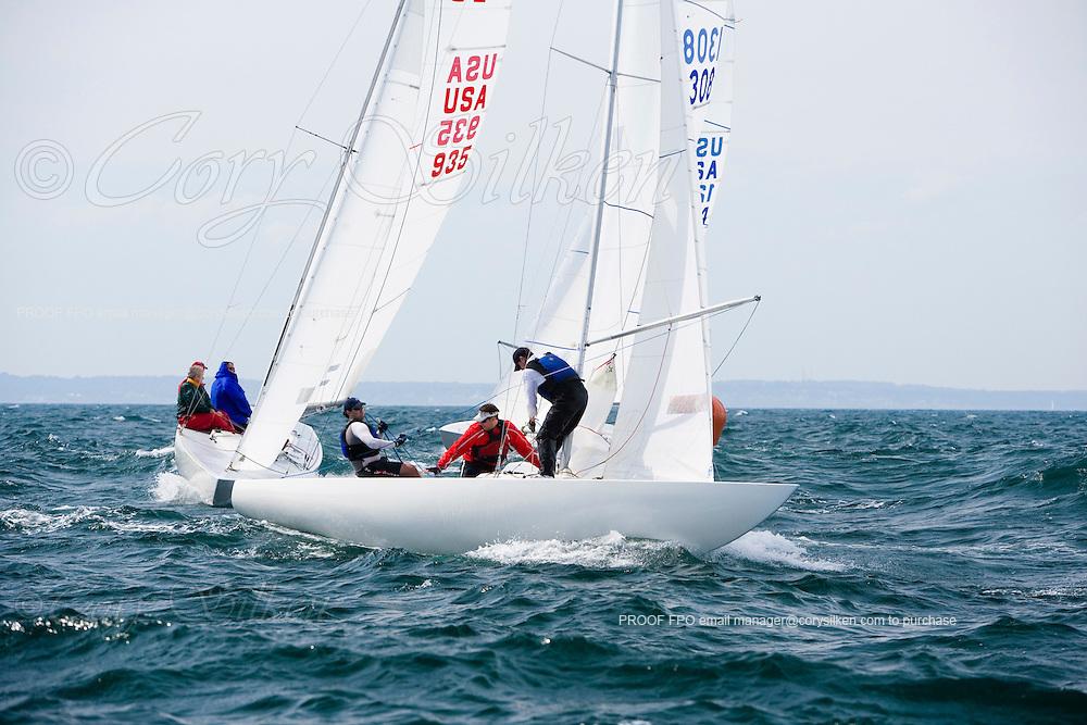 Etchells 1308 at The Newport Regatta