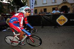 Mahoric Mitja (SLO) of Adria Mobil at prologue (6,6km) of Tour de Slovenie 2011, on June 16 2011, in Ljubljana, Slovenia. (Photo by Urban Urbanc / Sportida)