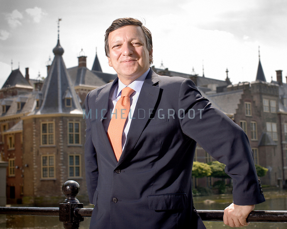 José Manuel Durão Barroso, voorzitter van de Europese Commissie op May 24, 2008 in Den Haag, The Netherlands.  (photo by Michel de Groot)