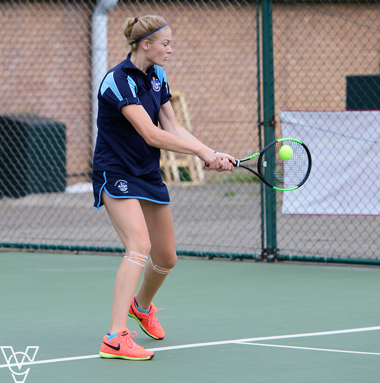 Aberdare Cup - Culford School A - Kira Reuter<br /> <br /> Team Tennis Schools National Championships Finals 2017 held at Nottingham Tennis Centre.  <br /> <br /> Picture: Chris Vaughan Photography for the LTA<br /> Date: July 14, 2017