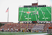 AUSTIN, TX - AUGUST 31: A general view from inside Darrell K Royal - Texas Memorial Stadium as the Texas Longhorns host the New Mexico State Aggies on August 31, 2013 in Austin, Texas.  (Photo by Cooper Neill/Getty Images) *** Local Caption ***