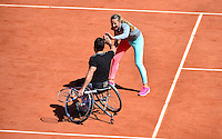 Victoria AZARENKA / Michael JEREMIASZ - 23.05.2015 - Tennis - Journee des enfants - Roland Garros 2015<br /> Photo : David Winter / Icon Sport