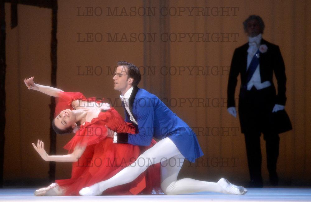 11.08.2014 Marinsky Ballet Company at The Royal Opera House Covent Garden UK Marguerite and Armand: Marguerite Diana Vishneva & Armand Konstantin Zverev
