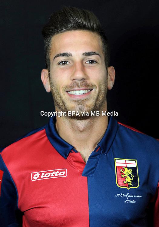 Italian League Serie A -2014-2015 / <br /> ( Genoa  CFC  ) - <br /> Antonino Ragusa