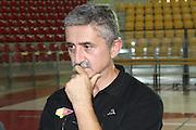 DESCRIZIONE : Roma Lega Basket A 2012-13  Raduno Virtus Roma<br /> GIOCATORE : Marco Calvani<br /> CATEGORIA : allenamento curiosita ritratto<br /> SQUADRA : Virtus Roma <br /> EVENTO : Campionato Lega A 2012-2013 <br /> GARA :  Raduno Virtus Roma<br /> DATA : 23/08/2012<br /> SPORT : Pallacanestro  <br /> AUTORE : Agenzia Ciamillo-Castoria/M.Simoni<br /> Galleria : Lega Basket A 2012-2013  <br /> Fotonotizia : Roma Lega Basket A 2012-13  Raduno Virtus Roma<br /> Predefinita :