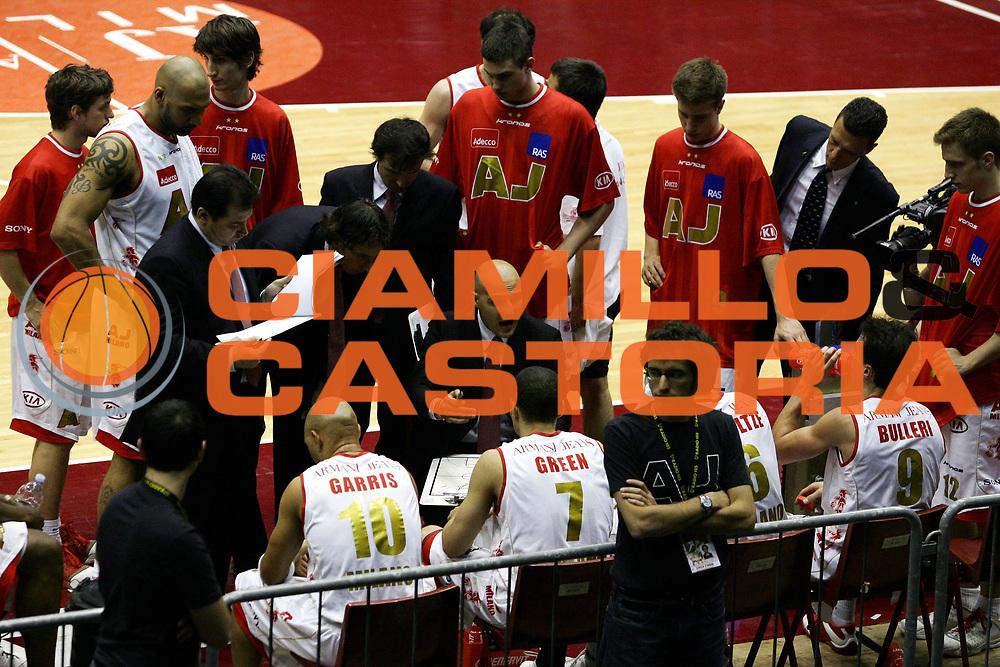 DESCRIZIONE : Milano Lega A1 2006-07 Armani Jeans Milano Eldo Napoli<br /> GIOCATORE : Djordjevic<br /> SQUADRA : Armani Jeans Milano<br /> EVENTO : Campionato Lega A1 2006-2007<br /> GARA : Armani Jeans Milano Eldo Napoli<br /> DATA : 29/04/2007<br /> CATEGORIA : Timeout<br /> SPORT : Pallacanestro<br /> AUTORE : Agenzia Ciamillo-Castoria/L.Lussoso