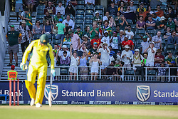 Fans during the 2nd ODI match between South Africa and Australia held at The Wanderers Stadium in Johannesburg, Gauteng, South Africa on the 2nd October  2016<br /> <br /> Photo by Dominic Barnardt/ RealTime Images