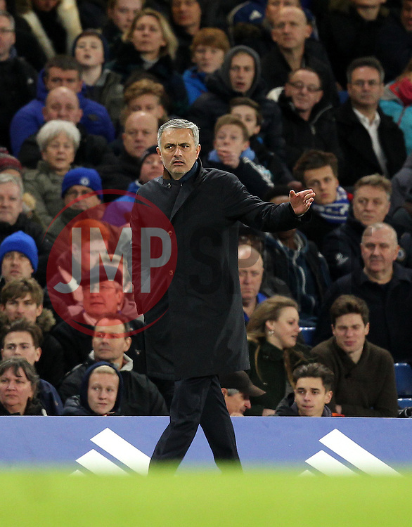 Chelsea Manager Jose Mourinho - Mandatory byline: Robbie Stephenson/JMP - 05/12/2015 - Football - Stamford Bridge - London, England - Chelsea v AFC Bournemouth - Barclays Premier League