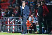 Nottingham Forest Manager Philippe Montanier  during the EFL Cup match between Doncaster Rovers and Nottingham Forest at the Keepmoat Stadium, Doncaster, England on 9 August 2016. Photo by Simon Davies.